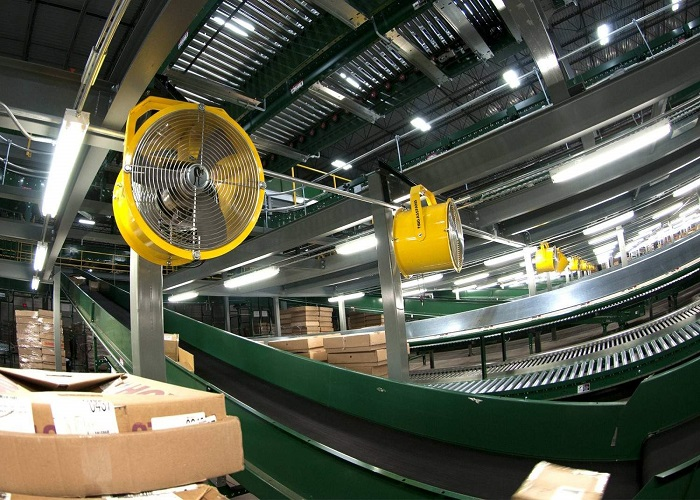 Warehouse Distribution Fans