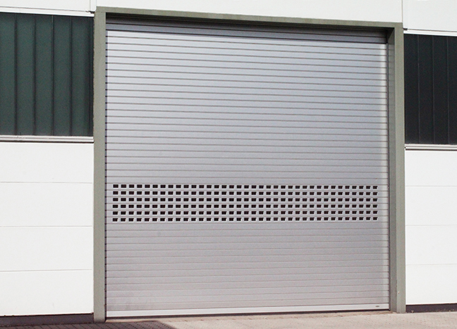 High Speed Rolling Aluminum Door by TNR Doors
