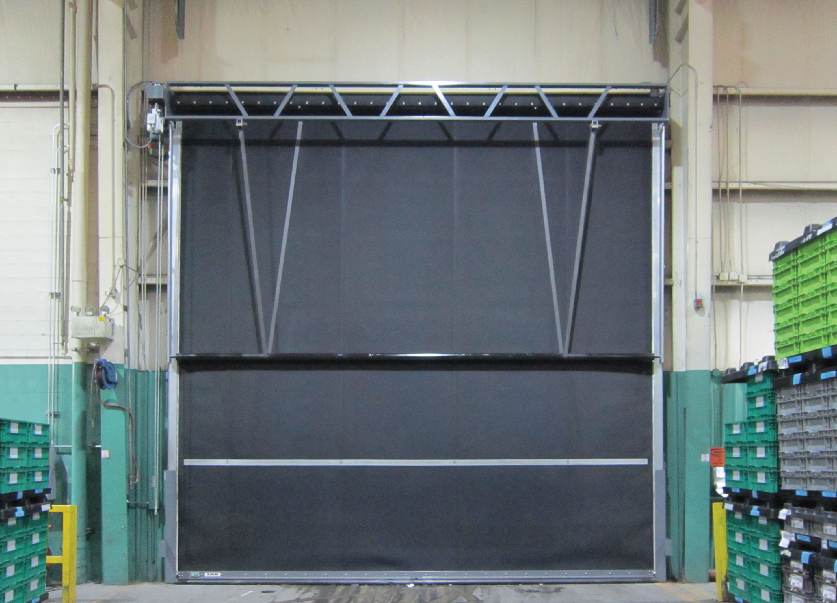 High Cycle Direct Drive Door